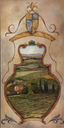 View to Tuscany, crop
